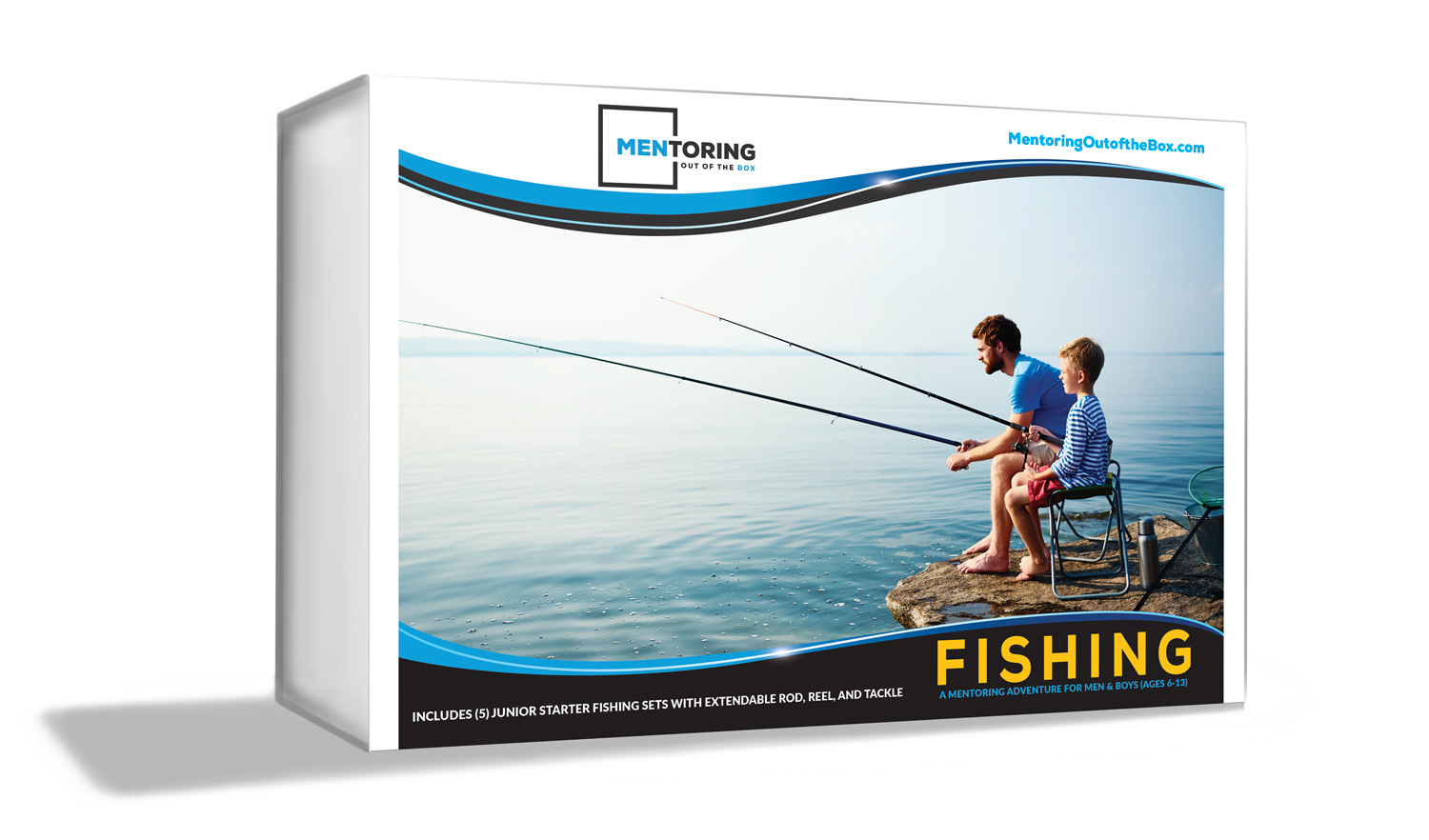 Mentoring Out of the Box - Fishing - is for up to (5) boys to go on a fishing adventure!